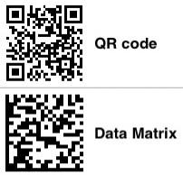 qrcode-datamatrix